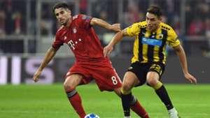 Javi Martinez FC Bayern Champions League 07112018