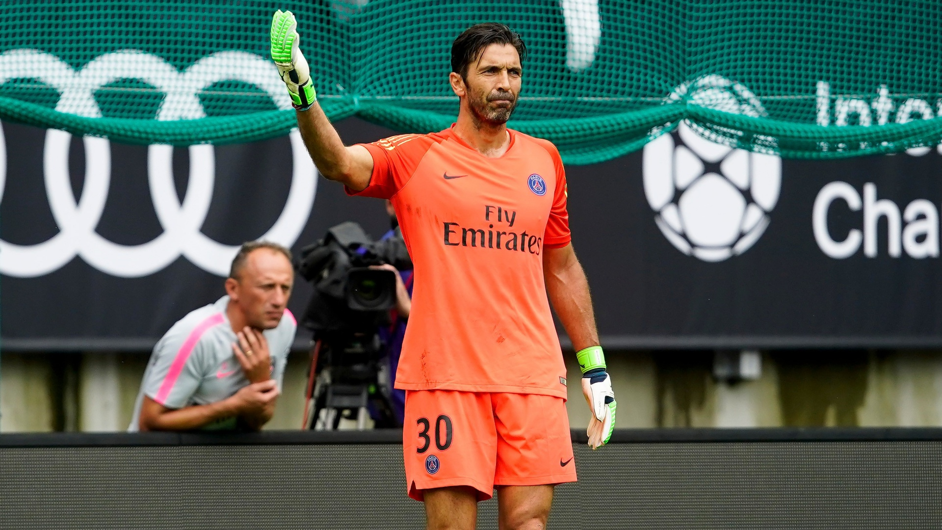 Gianluigi Buffon PSG 2018-07-21