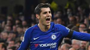 Alvaro Morata Chelsea vs Crystal Palace Premier League 2018-19