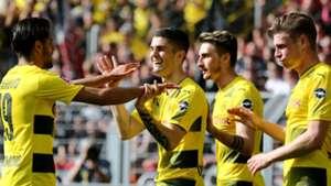 Christian Pulisic Borussia Dortmund celebration