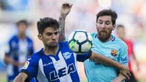 Enzo Zidane Lionel Messi Alaves Barcelona La Liga