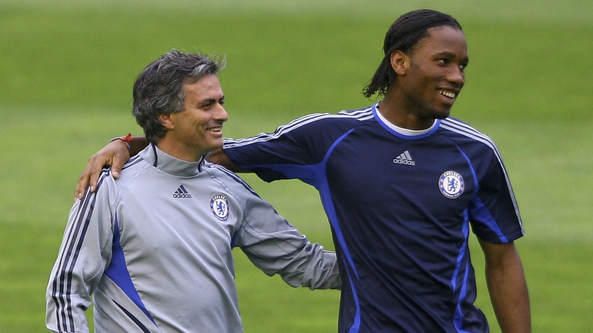 Jose Mourinho Didier Drogba