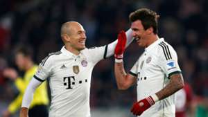Robben mandzukic FC Bayern 23022014