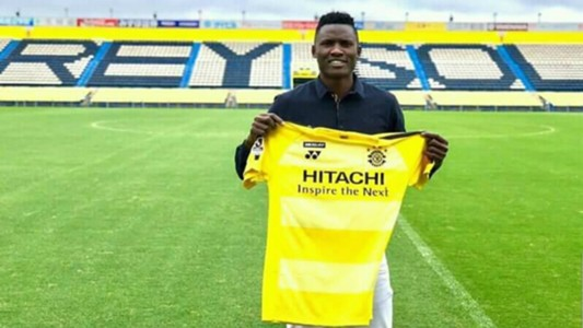 Michael Olunga signs for Kashiwa Reysol in Japan.