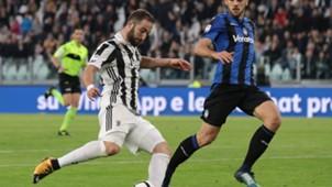 Gonzalo Higuain Juventus Atalanta Serie A