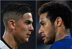 GFX Paulo Dybala Neymar Juventus Barcelona