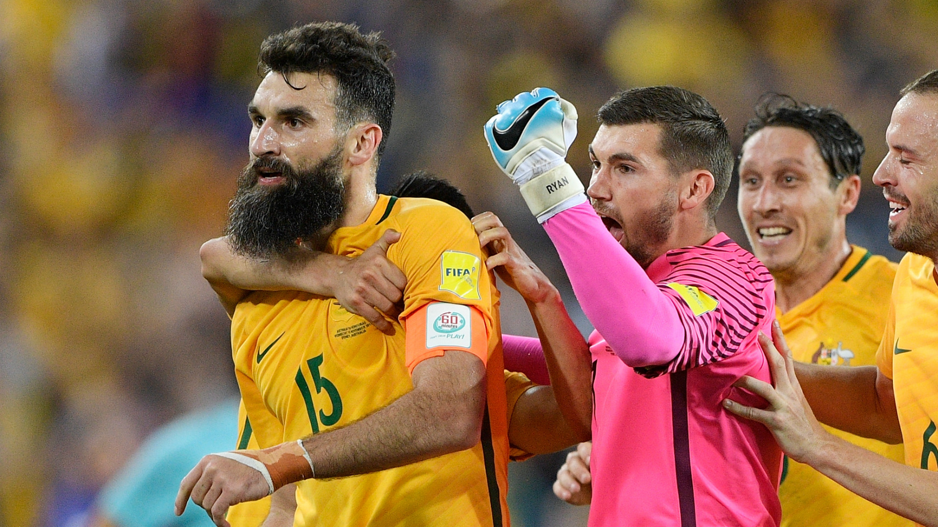 Jedinak scores hat-trick to send Australia to World Cup