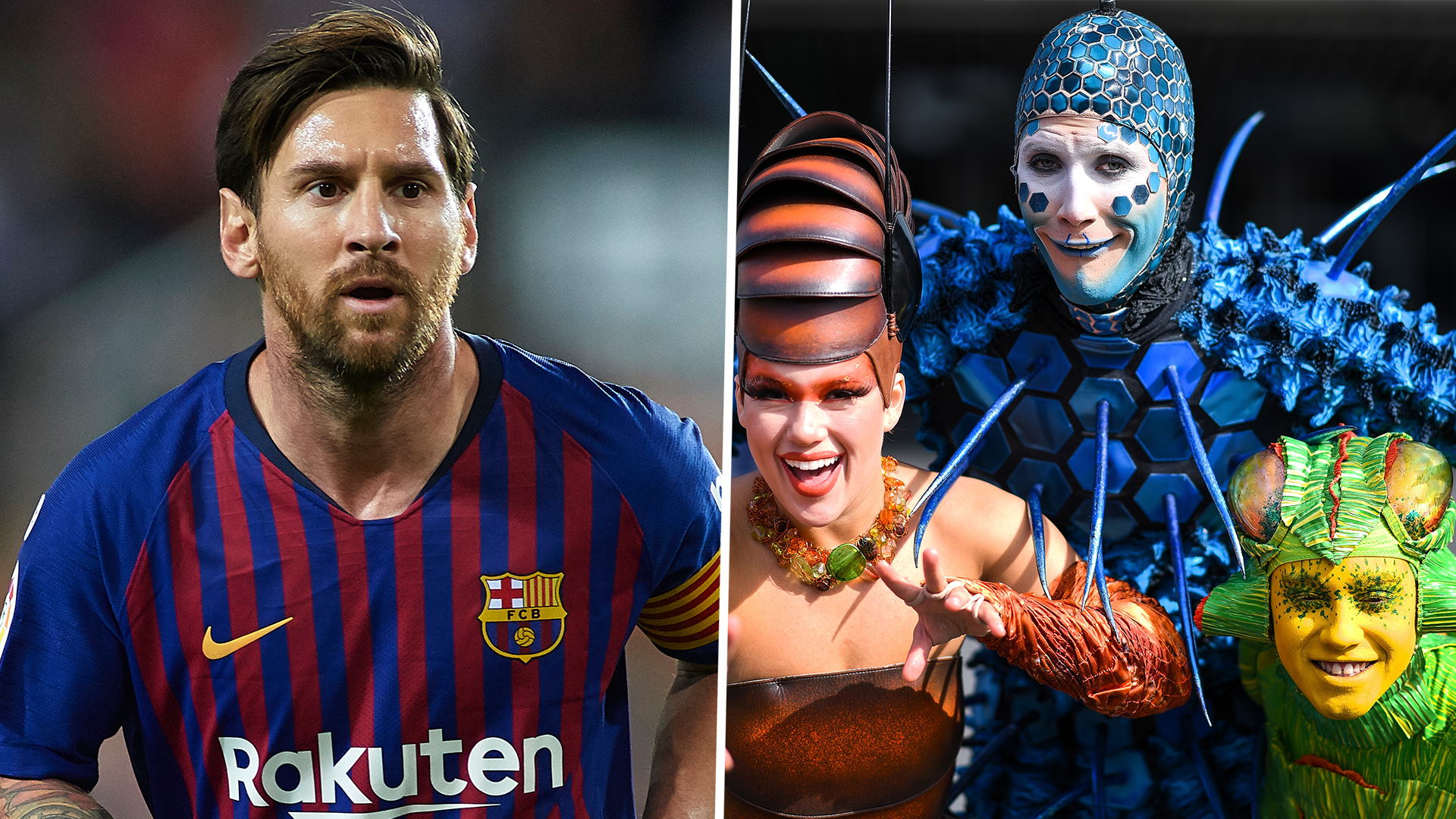 Lionel Messi, protagonist in the new Cirque du Soleil show