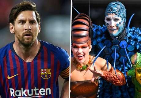 Messi announces Cirque du Soleil partnership