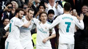 Cristiano Ronaldo Gareth Bale Luka Modric