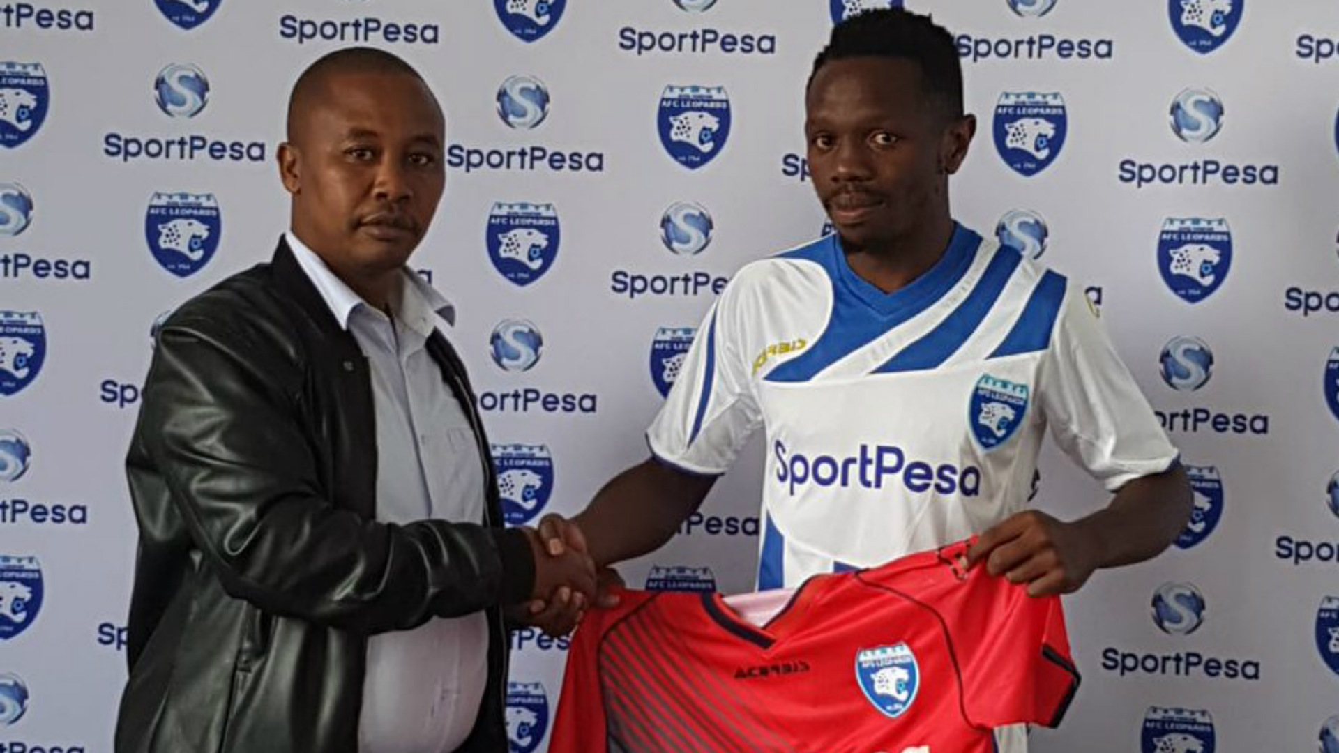Edward Seda of AFC Leopards.