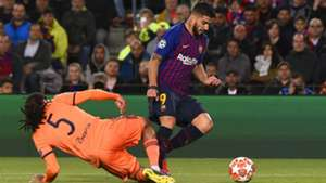 Jason Denayer Luis Suarez Barcelona Lyon Champions League 13032019