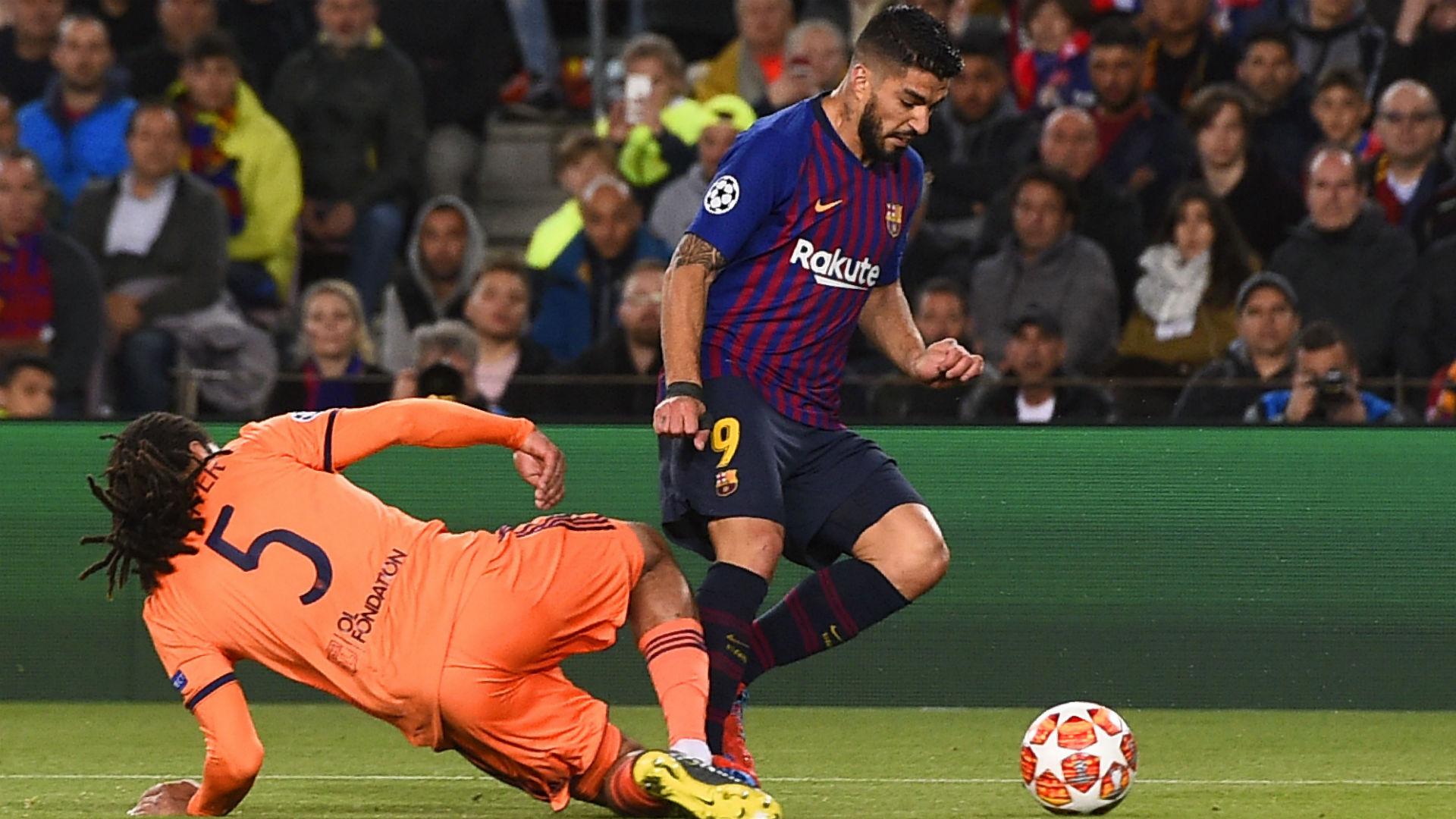 Jason Denayer Luis Suarez Barcelona Lyon Champions League 13032019