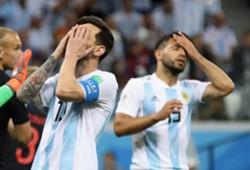 Lionel Messi and Sergio Aguero