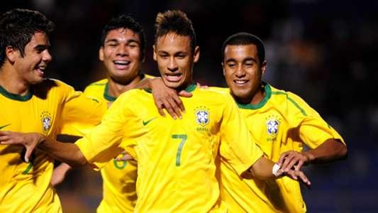2011 Neymar Lucas Moura Casemiro Henrique Almeida Brazil U20 championship
