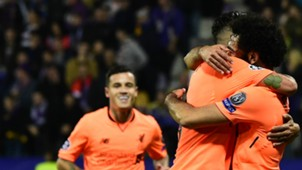Philippe Coutinho Mohamed Salah Liverpool 17102017