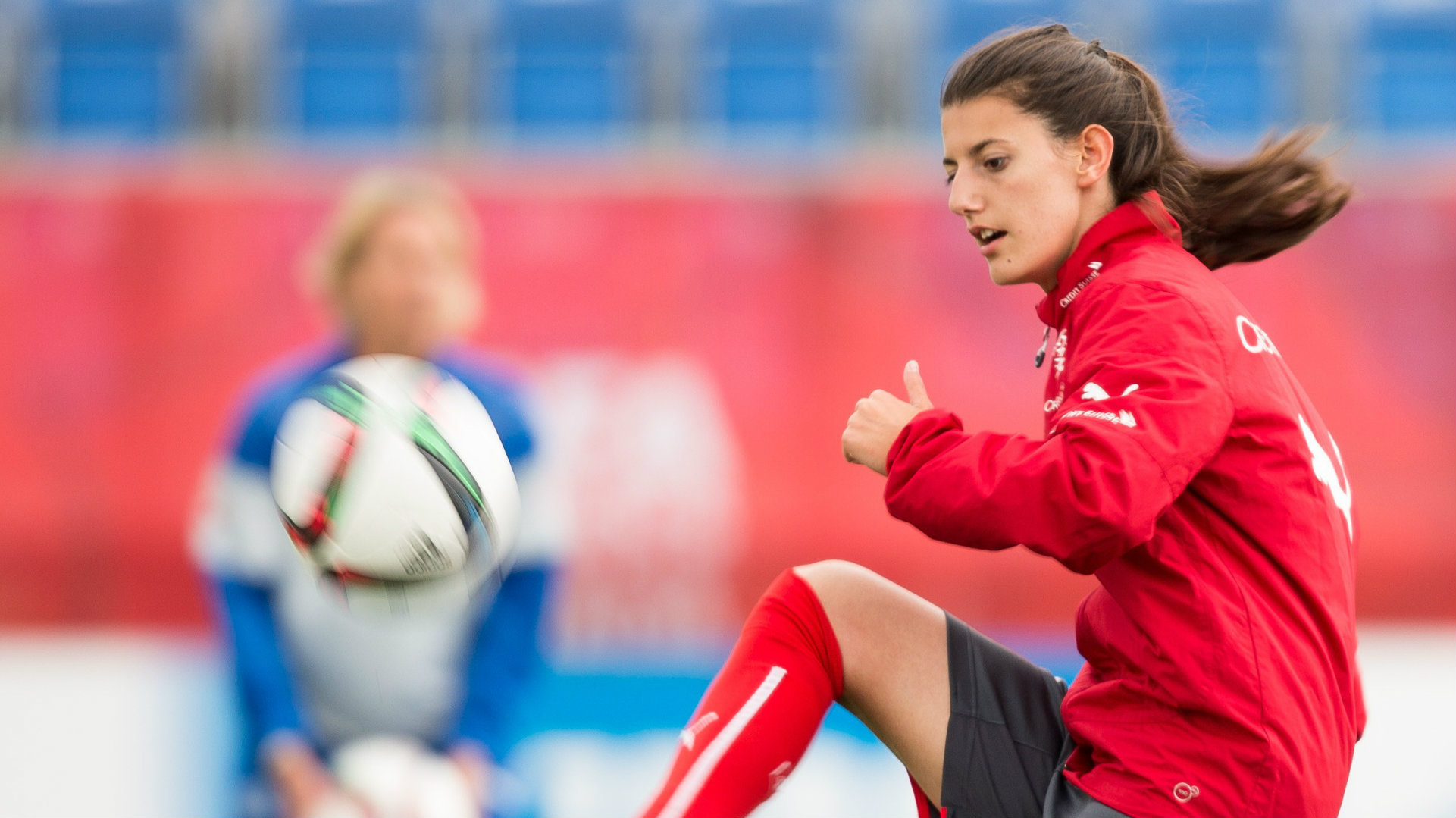 Swiss female footballer missing after swimming accident