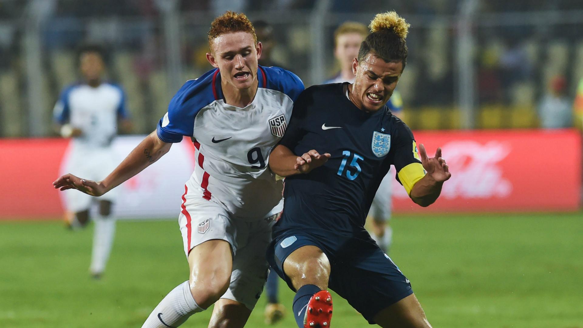 Jose Sargent Joel Latibeaudiere USA England U-17