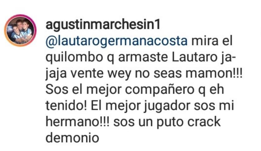 Interacciones Marchesín Lautaro Acosta