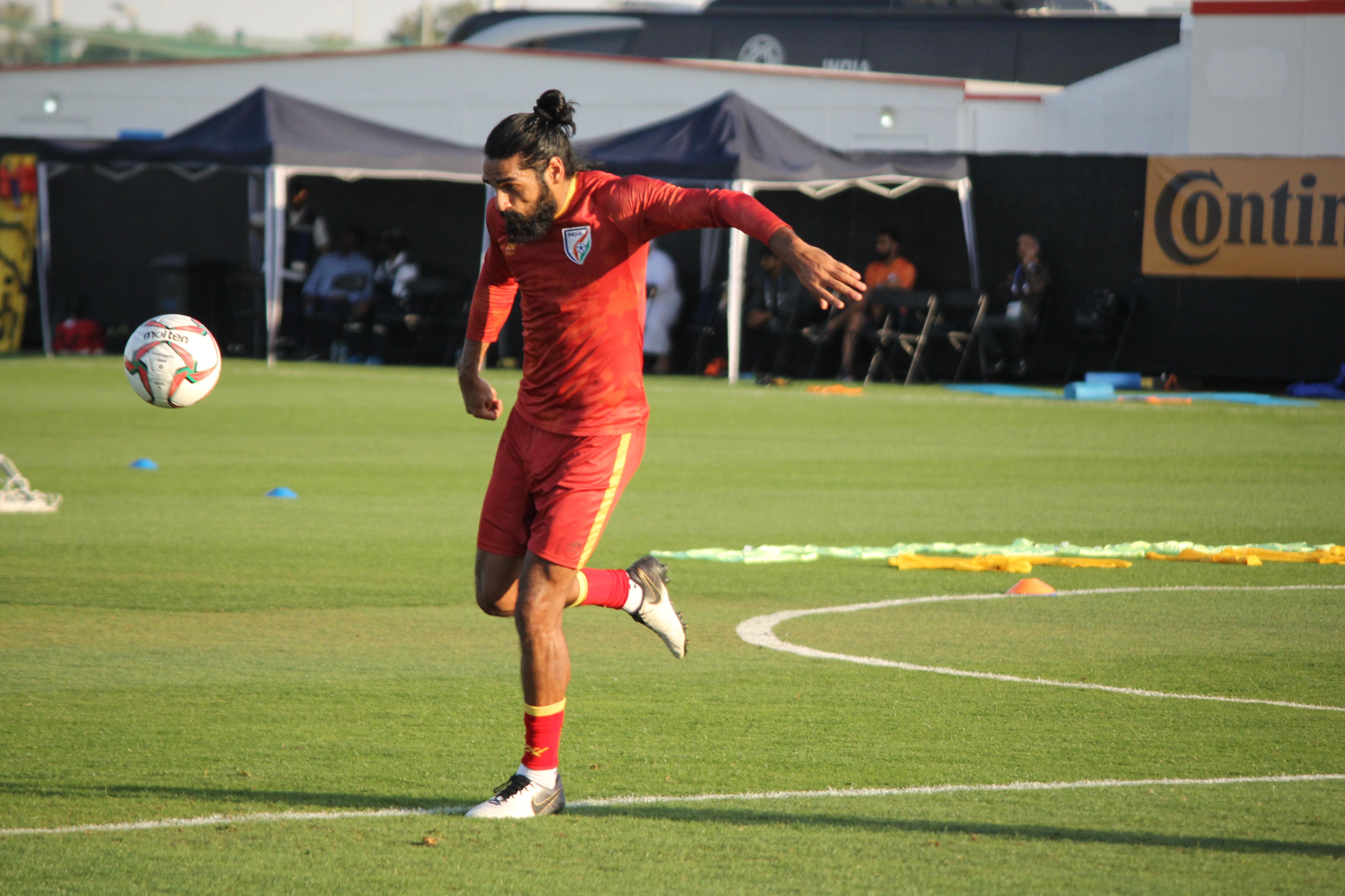 Sandesh Jhingan India Asian Cup 2019