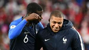 Paul Pogba Kylian Mbappe France World Cup 2018