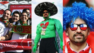 Aficionados en la Copa Confederaciones 2017