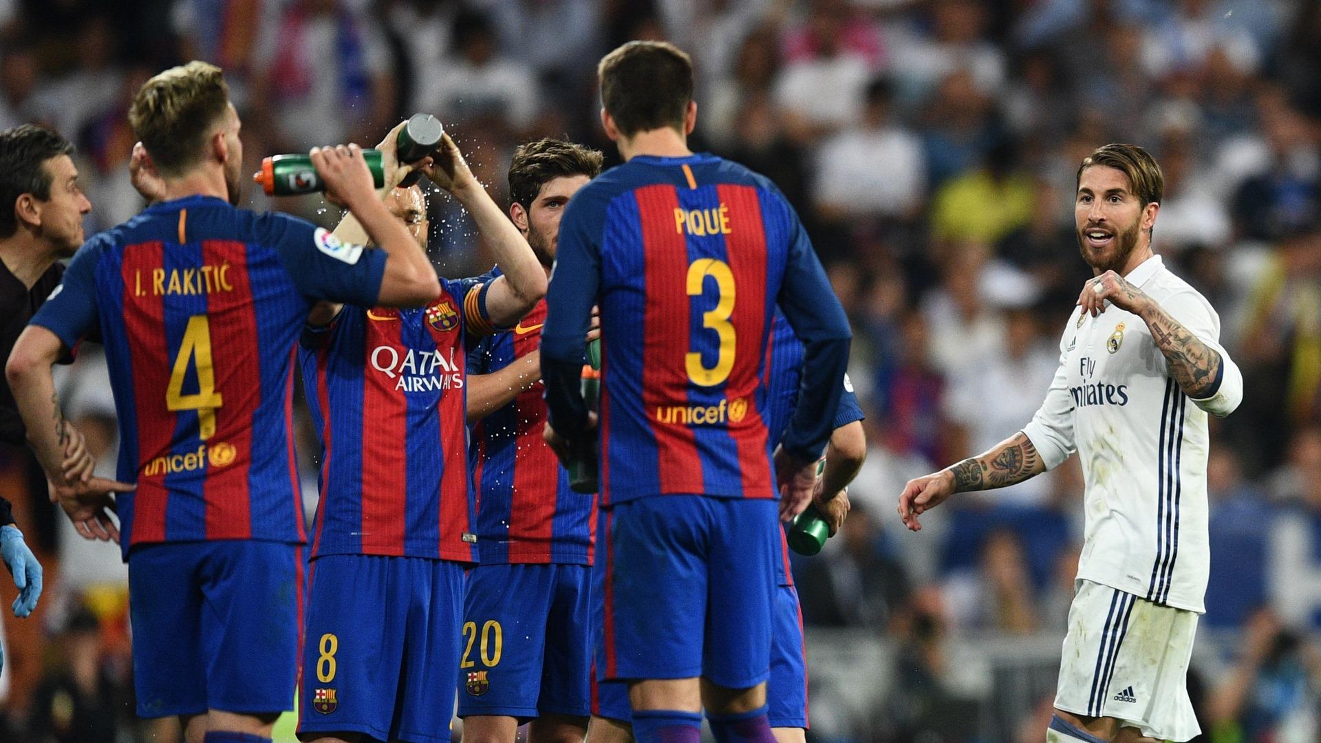 Sergio Ramos Gerard Pique Real Madrid Barcelona LaLiga 23042017
