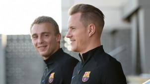 Jesper Cillessen Marc Andre ter Stegen FC Barcelona