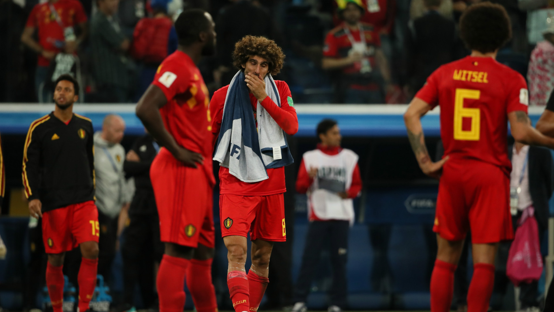 France Belgium World Cup 2018 Fellaini