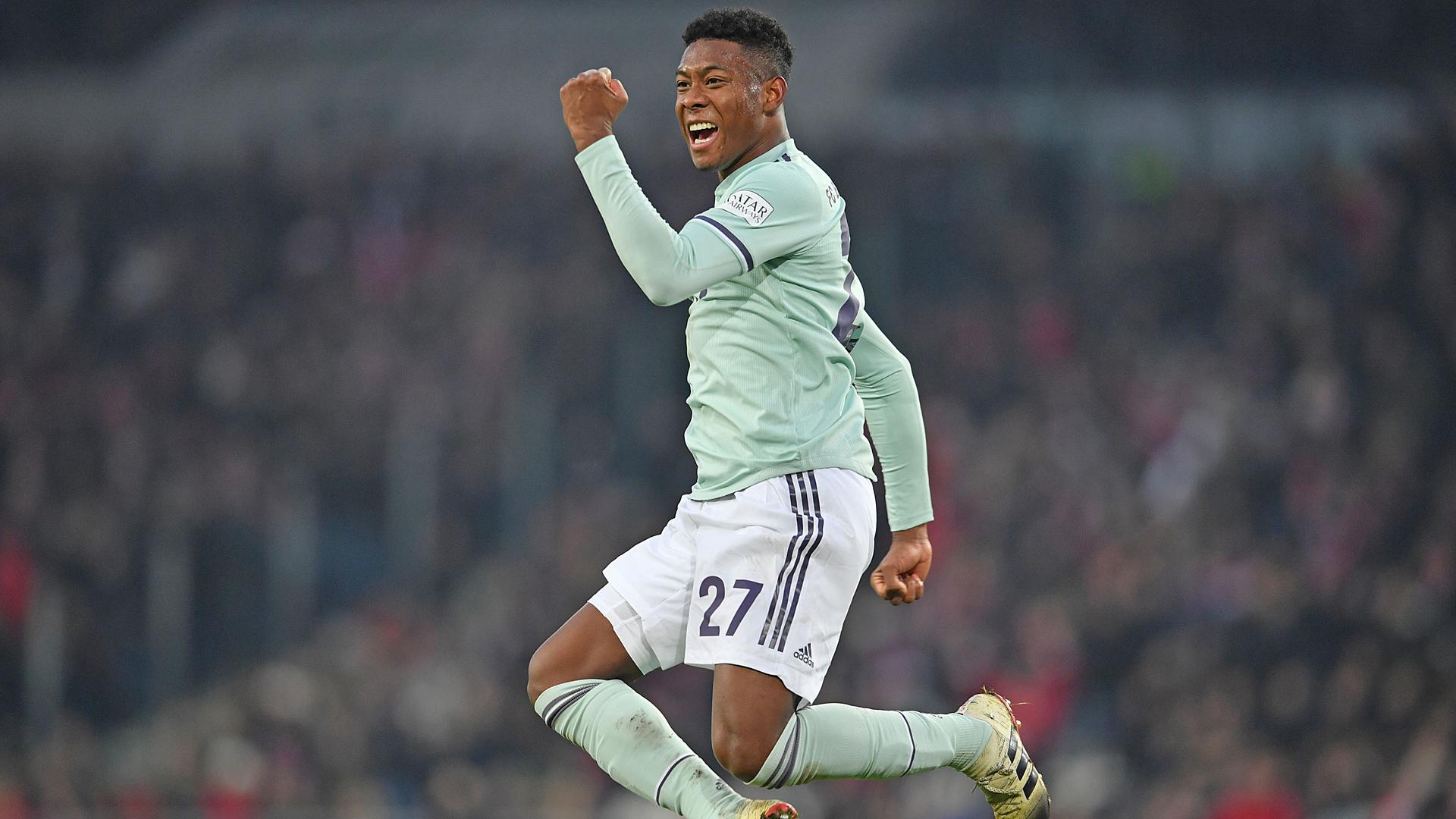 David Alaba FC Bayern