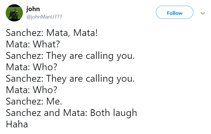 Sanchez Mata laughing 7