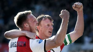 Nicolai Jorgensen, Dirk Kuyt, Feyenoord