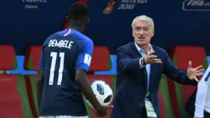 Ousmane Dembele Didier Deschamps France