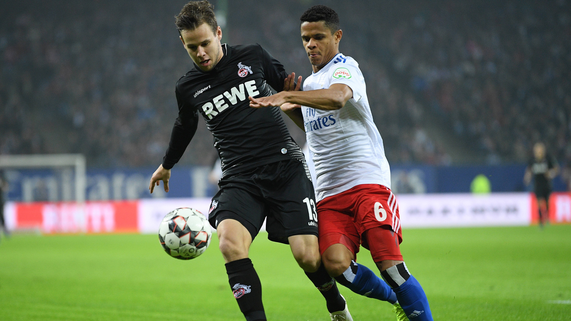Schaub Köln Douglas Santos Hamburger SV 051118
