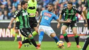 Insigne Napoli Sassuolo Serie A