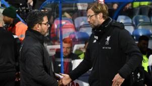 David Wagner Jurgen Klopp Huddersfield Liverpool