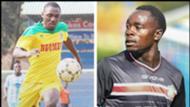 Elvis Rupia of Nzoia v Clifford Alwanga of Mathare United.