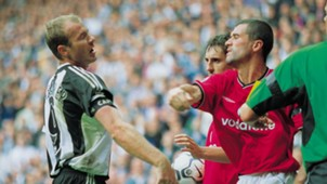 Alan Shearer, Roy Keane, Newcastle vs Manchester United