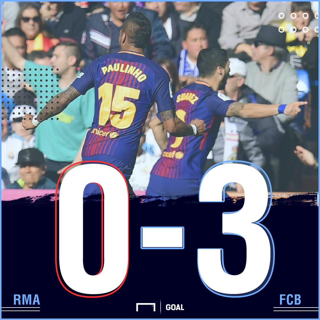 RM Barca score