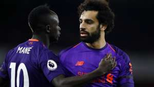 SADIO MANE MOHAMED SALAH LIVERPOOL PREMIER LEAGUE 03112018