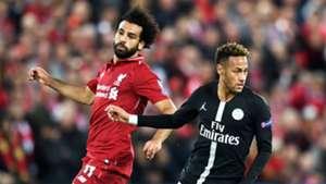 Salah Neymar Liverpool PSG Champions League 18 09 2018