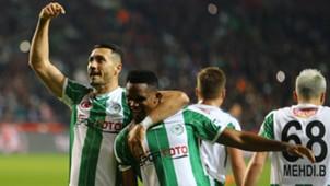 Adis Jahovic Samuel Eto'o Konyaspor Besiktas 02162018