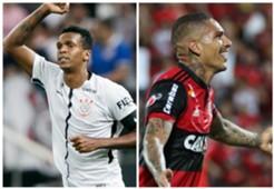 Jo vs Guerrero - Corinthians vs Flamengo