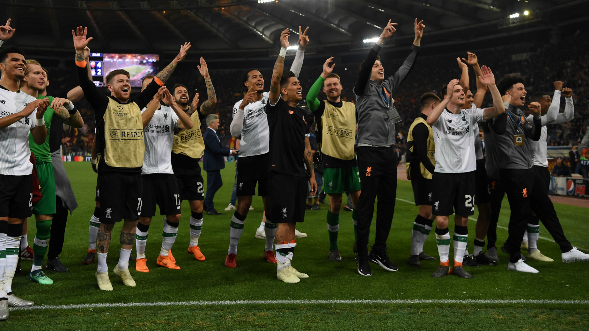 Liverpool vs Roma Champions League
