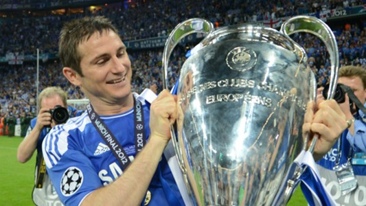 Frank Lampard Chelsea Champions League
