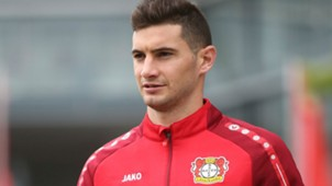 Lucas Alario Bayer Leverkusen 08092017