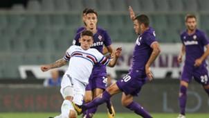 Valentin Eysseric Lucas Torreira Fiorentina Sampdoria Serie A