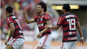 Willian Arão Flamengo Atlético-MG 23092018