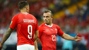 Shaqiri Seferovic Schweiz WM 2018