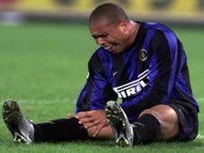 Ronaldo Inter Lazio injury